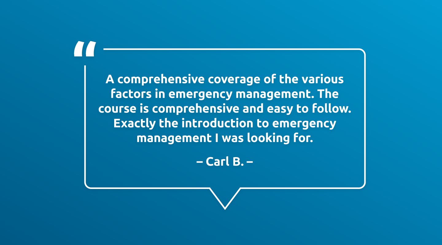 Learner-feedback-Emergency-Management